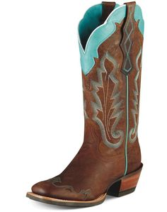 Ariat boots  - love, love, love the color scheme
