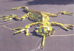 Recycled lizard