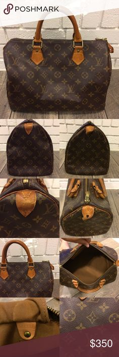 authentic louis vuitton speedy 30 the most classic louis vuitton shape the speedy will never
