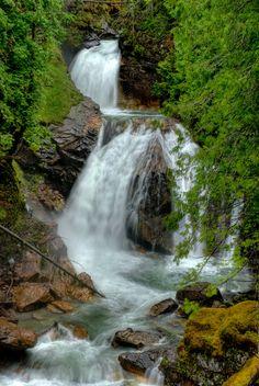 Crazy Creek Waterfall (BC) by Keith Watson
