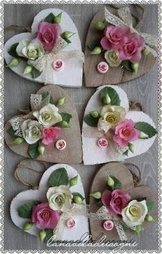 Love di fiori in Porcellana fredda