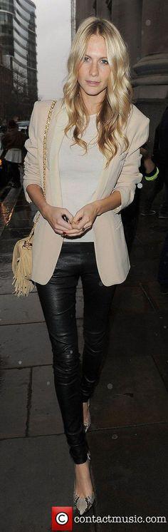 Poppy Delevigne London Fashion Week Autumn/Winter 2012 House...