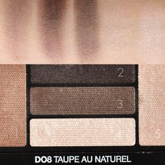 Lancome hypnose eyeshadow palette D08 Taupe au naturel