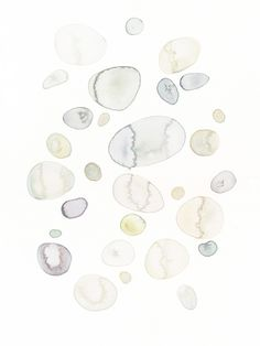 White stones Watercolor, akvarel, watercolor art, art