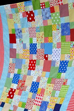Picnic Quilt by Pleasant Home, via Flickr