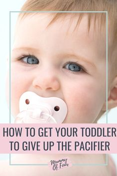 How To Get Your Toddler To Give Up The Dummy | Mummy Of Four