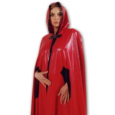 Red Latex Cape