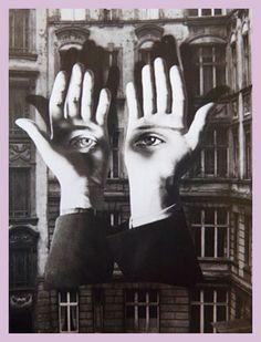* Raoul Hausmann et le mouvement Dada... les inventeurs du photomontage...