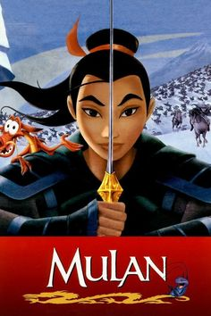 "that's the story of Mulan. And that's the story of ""Mulan. Disney Films, Disney Pixar, Disney Movie Posters, Disney And Dreamworks, Punk Disney, Walt Disney, Disney Quiz, Disney Characters, Kid Movies"