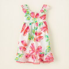 girl - dresses & rompers - butterfly print dress   Children's Clothing   Kids Clothes   The Children's Place