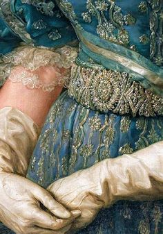 Traveling through history of Art.María Christina of the Two Sicilies, detail… Classic Paintings, Old Paintings, Beautiful Paintings, Renaissance Kunst, Renaissance Paintings, Renaissance Clothing, Aesthetic Painting, Aesthetic Art, Sculpture Textile