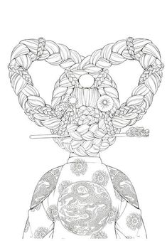 The 3470 best More Colouring Fun images on Pinterest in