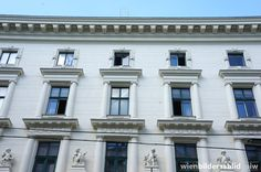 Otto Wagner, Stadiongasse 6-8, Vienna Otto Wagner, Vienna, Mansions, House Styles, Home Decor, Architecture, Mansion Houses, Homemade Home Decor, Manor Houses