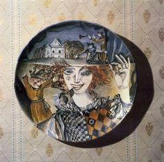 Валентин Васильевич Демьяненко. Петрушка. Plates, Tableware, Collection, Licence Plates, Dishes, Dinnerware, Griddles, Tablewares, Dish