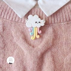 Hey, I found this really awesome Etsy listing at https://www.etsy.com/listing/227397981/cute-kawaii-rainbow-cloud-handmade