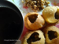 Paani puri a popular street food in Mumbai