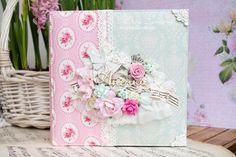 #скраптворчество #хобби #скрапальбом    БУМАГА : http://www.dvor-decor.ru/collection/scrap-paper-fleur ,   ДЕКОРАТИВНЫЕ ЦВЕТЫ : http://...