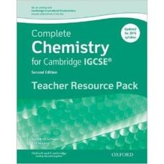 9780198308706 complete chemistry for cambridge igcse student book 9780198308768 complete chemistry for cambridge igcse teacher resource pack third edition fandeluxe Gallery