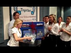 "32"" HDTV Winner Robison Orthodontics April wristband contest"