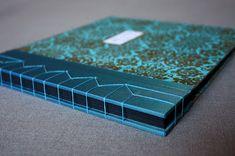 Japanese stab binding hardcover thread