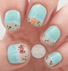excellent nail art blog - one nail to rule them all