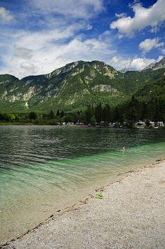 Lake Bohinj, Slovenia. Photography by Darrell Godliman, via Flickr.