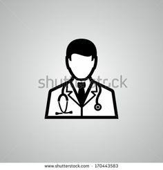 Doctor with stethoscope around his neck