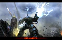 Tesla Attack - RA3 Pre-Tribute by mmecking on DeviantArt