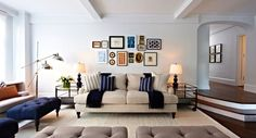 Get inspired by Traditional Living Room Design photo by Chango & Co. Wayfair lets you find the designer products in the photo and get ideas from thousands of other Traditional Living Room Design photos. Living Room New York, Living Room Photos, Living Room Update, Living Spaces, Transitional Living Rooms, Decoration, Living Room Designs, Family Room, Family Pics