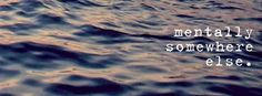 free facebook cover image mentally somewhere else