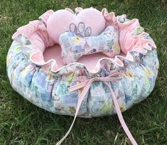Drawstring-Style Dog Bed with Memory Foam Cushion and Decorative Pillows, Small Dog Bed, Pet Bed, Cat Bed Custom Car Seats, Personalized Dog Beds, Dog Beds For Small Dogs, Baby Boy Gifts, Minky Fabric, Pet Beds, Baby Sewing, Memory Foam, Baby Car Seats