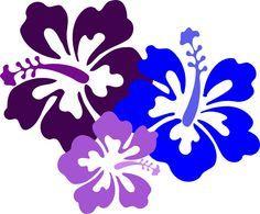 Hawaiian Flower Clip Art | Hibiscus 23 clip art - vector clip art online, royalty free  public ...