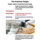 Cornell Style Lecture Notes (The American People) Government and the People