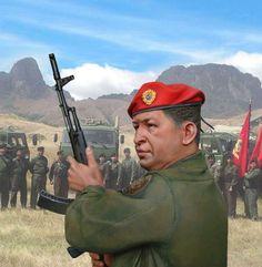 Чавес Уго Рафаэль, президент Венесуэлы с 1999 по 2013. М1:6 (300 мм).