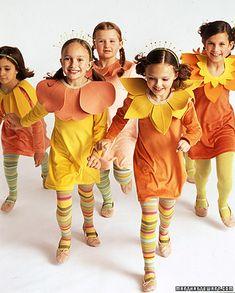 Group Costume Idea: Flower Bouquet