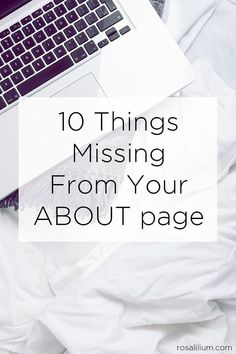 10 Things Missing From Your About Page Home Based Business, Business Tips, Business Marketing, Content Marketing, Digital Marketing, About Me Page, About Me Blog, Product Page, Blogging For Beginners