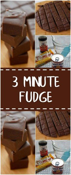 3 Minute Fudge #3minute #fudge #whole30 #foodlover #homecooking #cooking #cookingtips