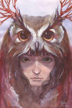 owl headdress