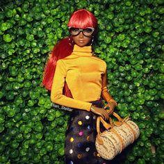 There she goes #Amelie #FashionDoll @integrity_toys #instadoll #dollstagram #dollphotogallery #BeautySupremacy