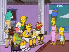 Final de la Iliada en los Simpsons - YouTube
