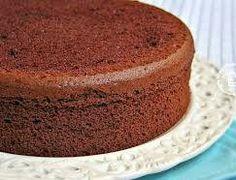 Eggless Chocolate Sponge Cake Recipe by Hafsa Zoya - Cookpad India Eggless Desserts, Eggless Recipes, Eggless Baking, Dessert Recipes, Eggless Sponge Cake, Chocolate Sponge Cake, Sponge Cake Recipes, Genoise Sponge, Food Cakes