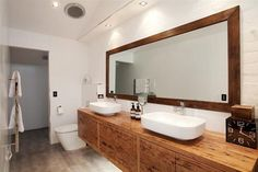 Melbourne specialists in custom made Timber Bathrooms. Each Timber Bathroom is custom made to ensure only quality furniture is delivered to your home. Wooden Bathroom Vanity, Bathroom Sink Bowls, Downstairs Bathroom, Bathroom Renos, Bathrooms, Bathroom Ideas, Installing French Doors, Timber Vanity, Tropical Bathroom