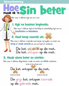 Afrikaans Language, Afrikaans Quotes, Home Activities, Preschool Learning, School Projects, Phonics, Spelling, Teaching Resources, Homeschool