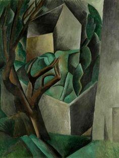 Pablo Picasso - The Garden House, 1909