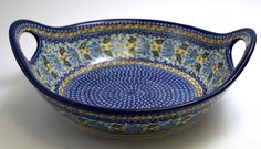 Basket Bowl with Handles (281)