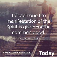 1 Corinthians 12:7
