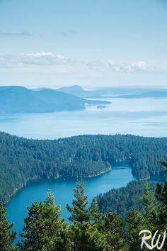 View from Mount Constitution, Orcas Island, Washington  http://www.rwongphoto.com/blog/backroads-san-juan-islands-singles-solos-multisport-camping-trip/  #sanjuanislands #pacificnorthwest #washingtonstate #landscapephotography