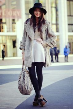 fashion street winter