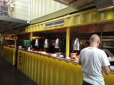 Awesome Shipping Container Restaurant Plans