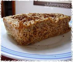 Adelgaza Con Susi: Bizcocho de Salvados Ligero al Microondas ( 80kcal) Recetas Light, Dukan Diet, Flan, Banana Bread, Paleo, Low Carb, Healthy Recipes, Cooking, Easy